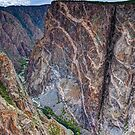 Painted Wall - Black Canyon of the Gunnison National Park by Stephen Beattie