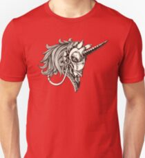 Steampunk Unicorn Fantasy Unisex T-Shirt