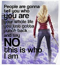 Emma Quote poster Poster
