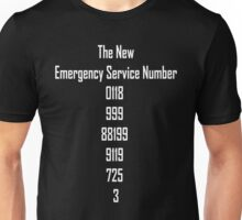 The New Emergency Services Number Unisex T-Shirt