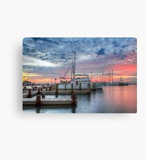 Texas Coast Images - Boats of Rockport, Texas 7 Canvas Print