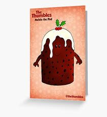 Melvin the Pud Greeting Card