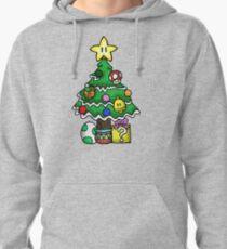 Super Mario - Mushroom Kingdom Christmas (Old) Pullover Hoodie