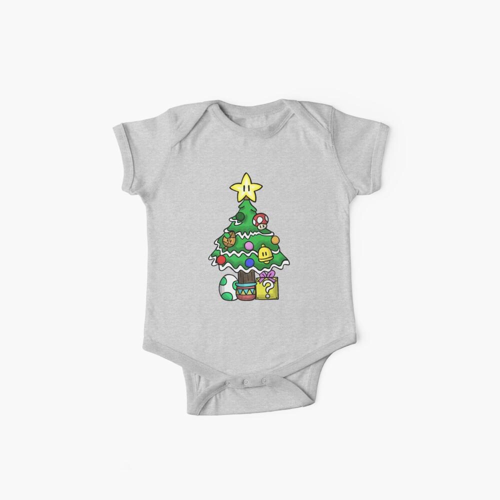 Super Mario - Pilzreich Weihnachten (alt) Baby Bodys