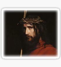 Carl Heinrich Bloch - Christ  Sticker