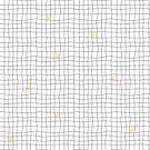 Carreaux - Grey/Yellow by MinkyGigi