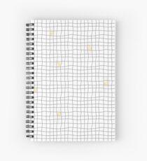 Carreaux - Grey/Yellow Spiral Notebook