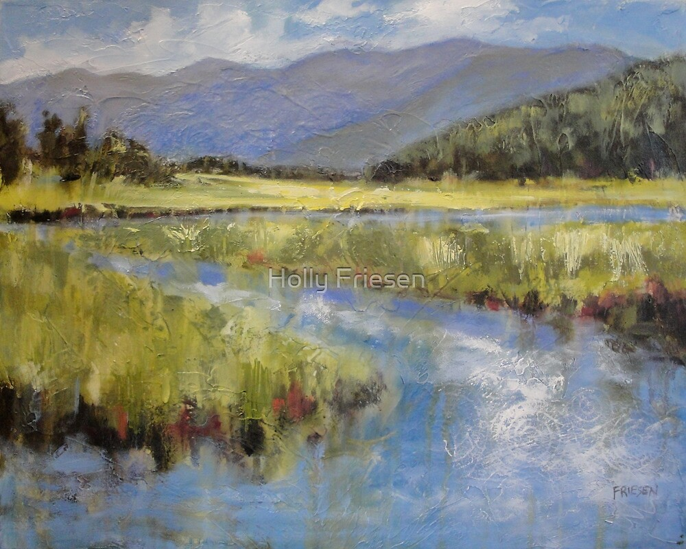 Meandering  by Holly Friesen