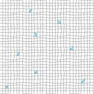 Carreaux - Grey/Blue by MinkyGigi