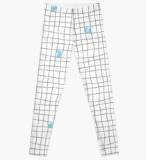 Carreaux - Grey/Blue Leggings