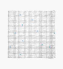 Carreaux - Grey/Blue Scarf