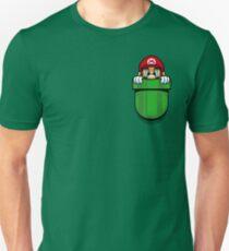 Camiseta ajustada Plomero de bolsillo