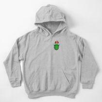 Sudadera con capucha para niños Plomero de bolsillo