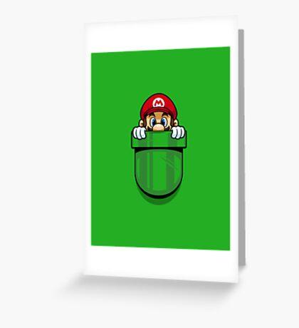 Pocket Plumber Greeting Card