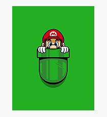 Pocket Plumber Photographic Print
