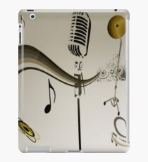 SOLD - SING ME AN OLD FASHIONED SONG! iPad Case/Skin