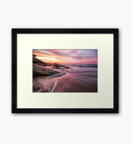 Tamarama Sunrise Framed Print