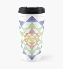 Sri Yantra 10 Travel Mug