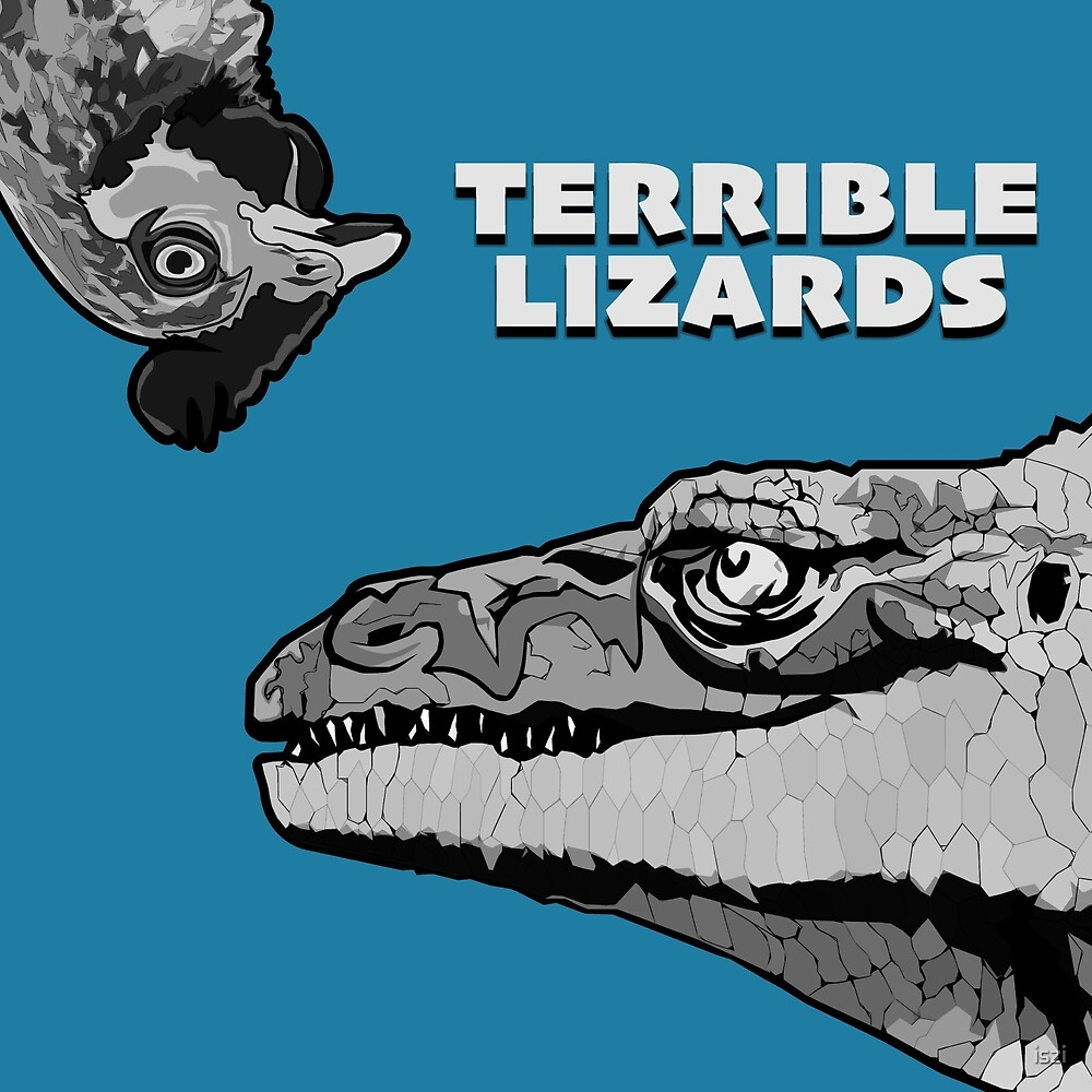 Terrible Lizards by iszi