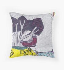 Christmas Cyclone - Tom Throw Pillow