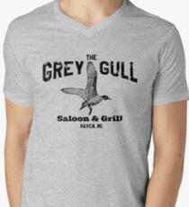 The Grey Gull Men's V-Neck T-Shirt