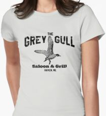 The Grey Gull Womens Fitted T-Shirt