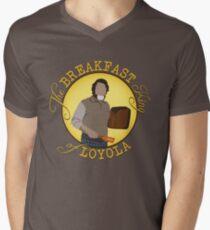 The Breakfast King of Loyola (FARGO) Men's V-Neck T-Shirt