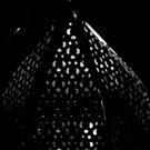 Lantern top at night by Mark Batten-O'Donohoe