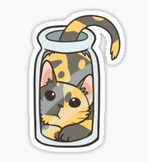 Bottled Cat Sticker