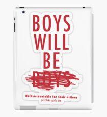 Feminist Equality Merch iPad Case/Skin