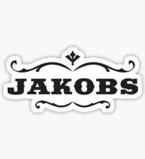 Jakobs Logo Sticker