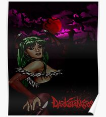 Morrigan of the Darkstalkers Poster