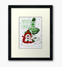 Christmas Fun Framed Print