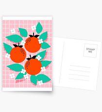 Bodacious - modern abstract minimal 1980s throwback memphis design trendy palm springs art Postcards