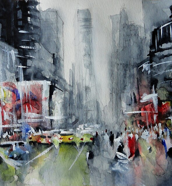 New York painting by nicolasjolly