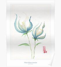Fleur bleue 02 Poster
