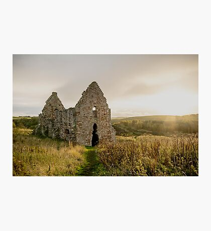 Ancient Horse Stables Photographic Print