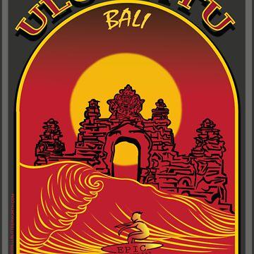 ULUWATU BALI SURFING by theoatman