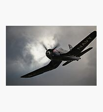 Red Bull Chance Vought F4U-4 Corsair Photographic Print