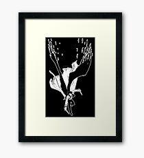 Angel Slayer (dark version) Framed Print