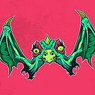 W is for Winged Wart Beak by strangethingsA