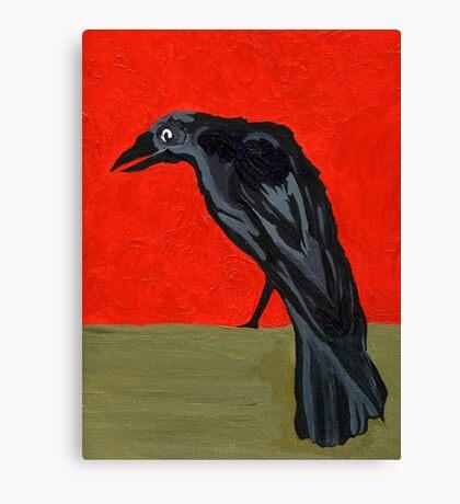 My Poe's Raven Canvas Print