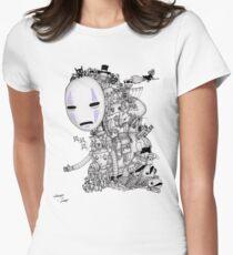 Hayao Miyazaki Tribute #2 Women's Fitted T-Shirt