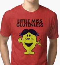 Little Miss Glutenless Tri-blend T-Shirt
