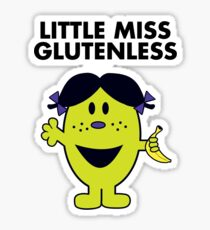 Little Miss Glutenless Sticker
