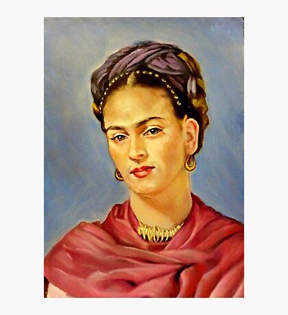 portrait of Frida Kahlo Photographic Print