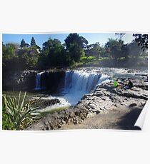 Haruru Falls, New Zealand Poster