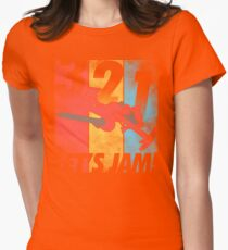 Let's Jam! Women's Fitted T-Shirt