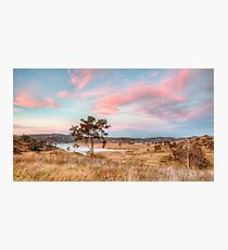 Pink Dusk Photographic Print