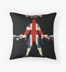 God save the queen Throw Pillow